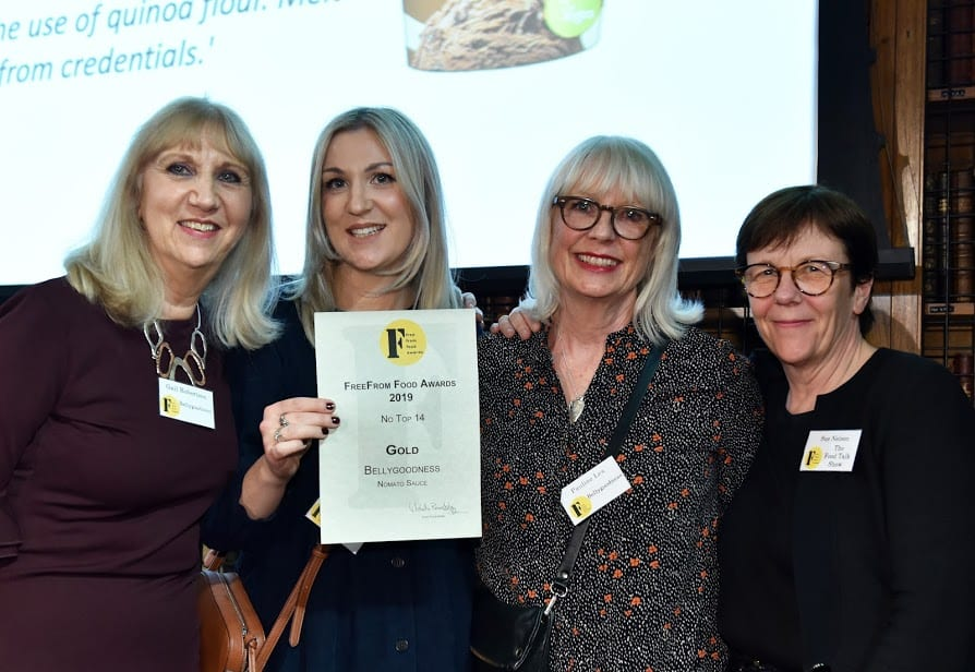 Bellygoodness wins Gold at the FreeFrom Food Awards 2019