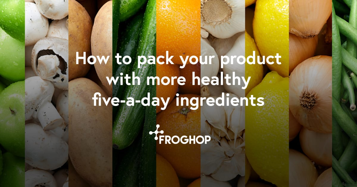 Five-a-day food product development