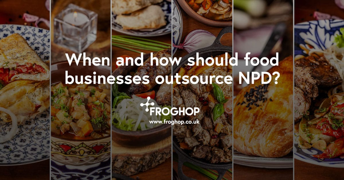 When and how should food businesses outsource NPD?