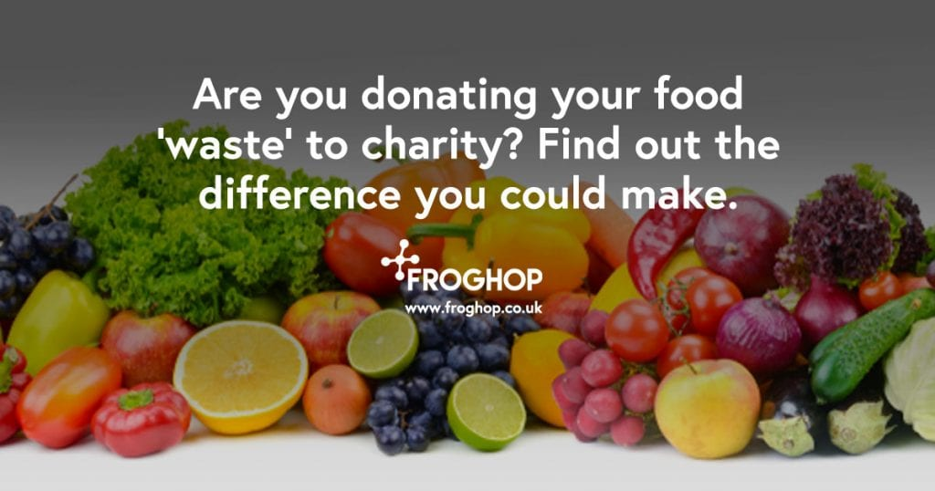 Are you donating food waste to charity?