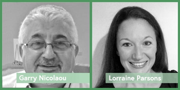 Meet the Froghop team - Garry Nicolaou and Lorraine Parsons