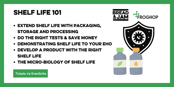 Shelf Life 101 webinar with Bread and Jam