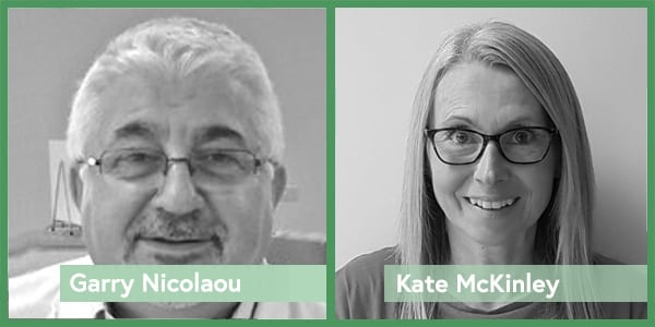 Meet the Froghop team - Garry Nicolaou and Kate McKinley