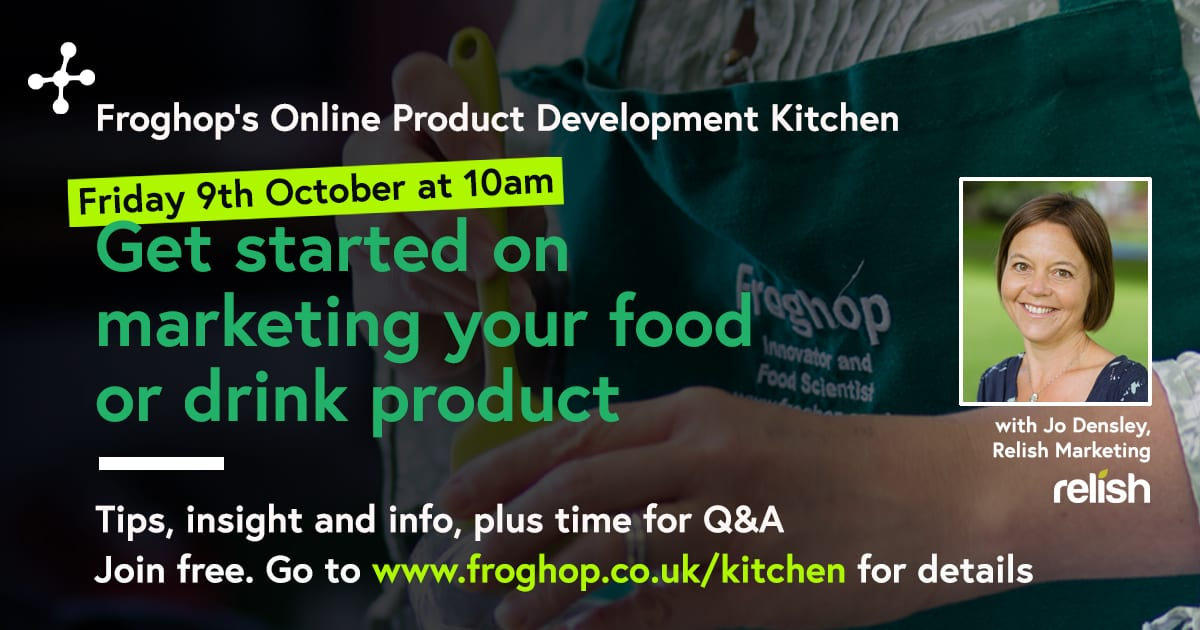 How to market a new food product - webinar recording