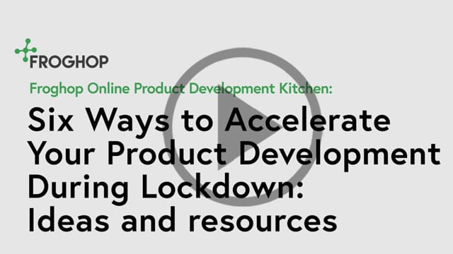 Accelerating food product development in lockdown