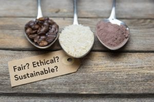 How can food producers can navigate Fairtrade, sustainable and ethical food claims?