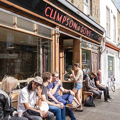 Climpson and Sons Cafe, Hackney