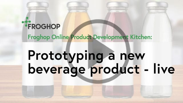 Beverage product development and prototyping