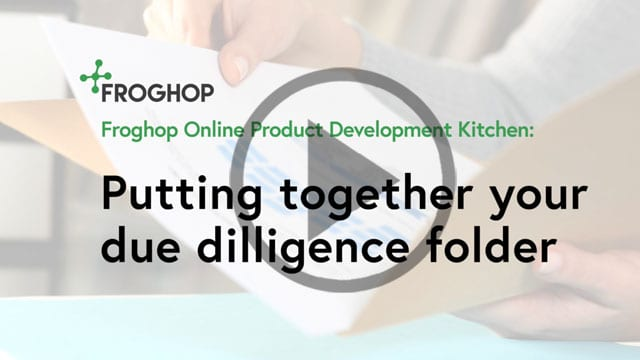 Creating a due diligence folder for your food business