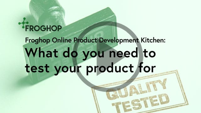 Webinar: Testing for food and drink products