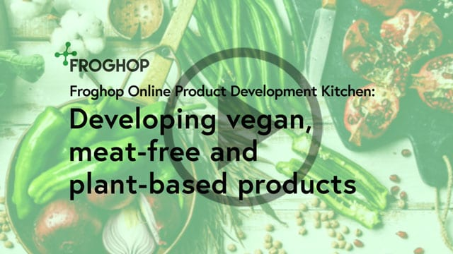 Developing vegan food products