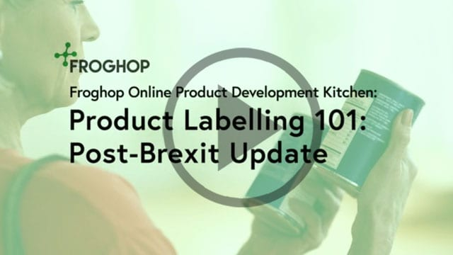 Product Labelling Post-Brexit Update