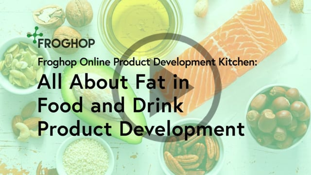 Fat in food and drink product development