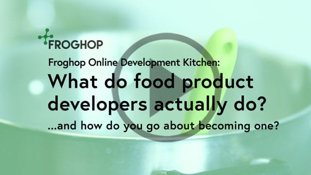 What does a food product developer do?