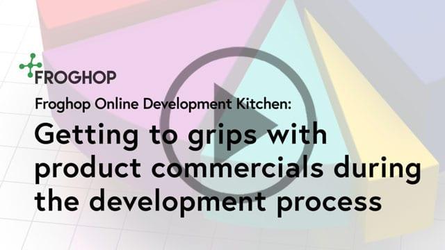 Understanding food product commercials
