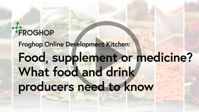 What's the difference between foods and supplements (and medicines)?