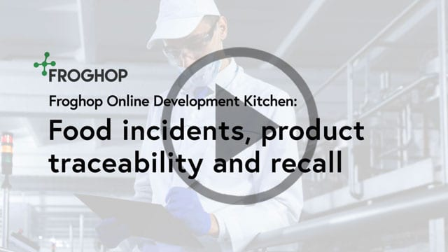 Webinar Recording: Dealing with food incidents, traceability and product recalls