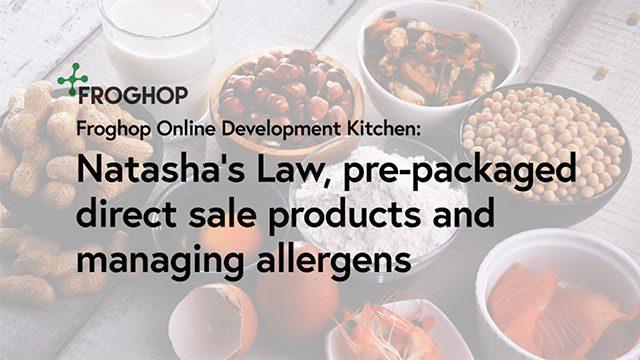 Natasha's Law and food businesses