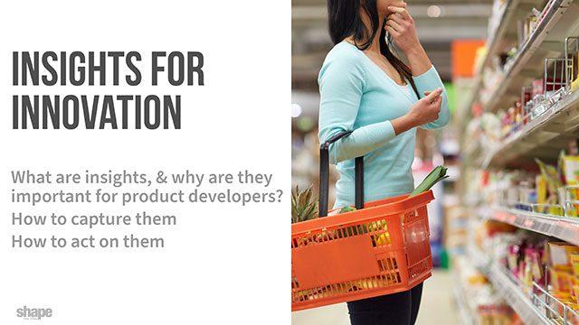 Insights for Food Innovation - Slides